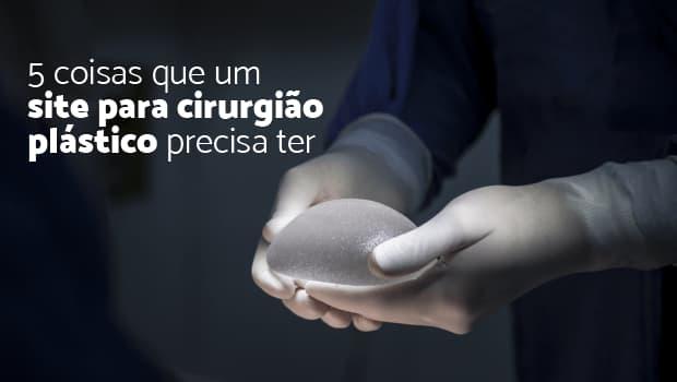 site para cirurgião plástico
